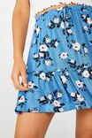 Penny Tiered Mini Skirt, LIBBY ROSE PARISIAN BLUE