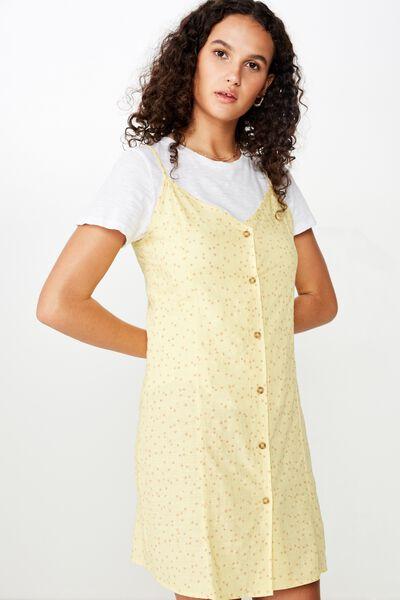 Woven Maisy Strappy Mini Dress, CARLY DITSY SUNDRESS