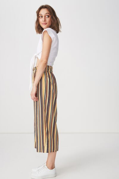 Jessie Culotte, ASH STRIPE YELLOW