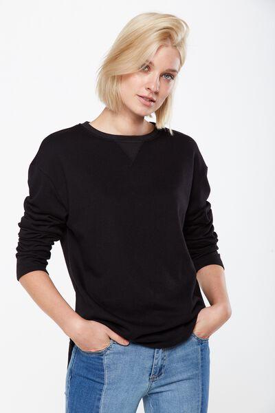 Gomez Light Weight Sweater, BLACK