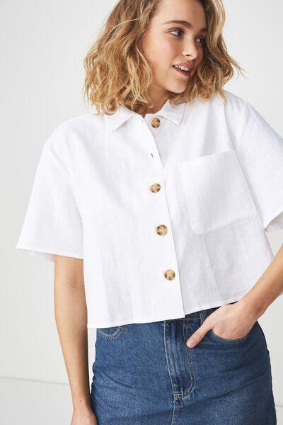 Meg Shirt, WHITE