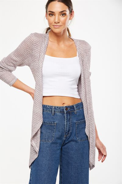 Short Wilma Cardigan, WINE TASTING TWIST