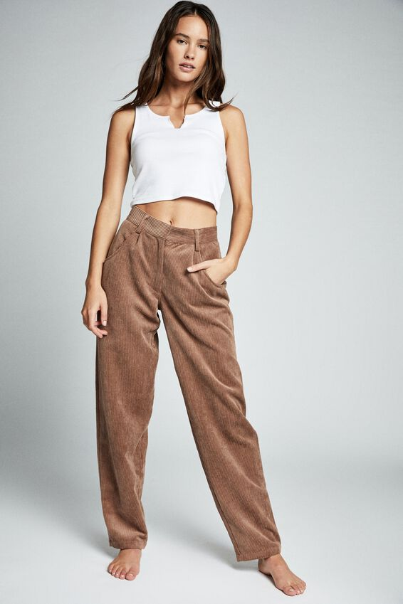 Relaxed Cord Pant, ACORN