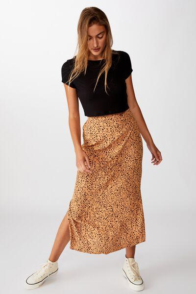 90S Slip Skirt, PIPER ANIMAL BISCUIT