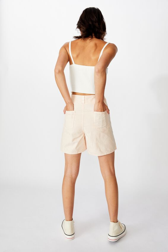 Pleated Utility Short, EVENING SAND