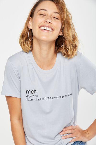 Tbar Fox Graphic T Shirt, MEH/BLUE ICE