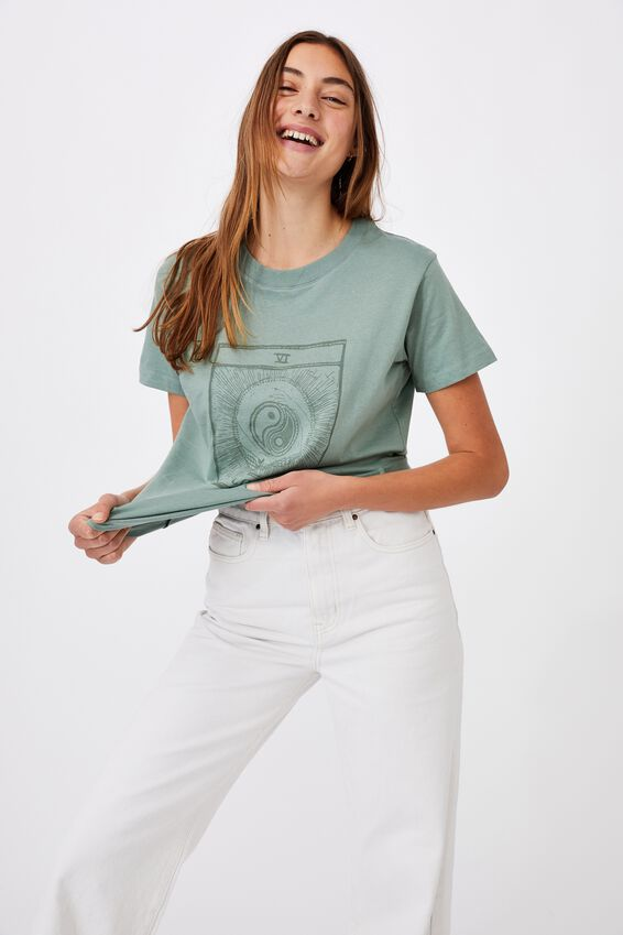 Classic Arts T Shirt, THE LOVERS/CHINOIS GREEN