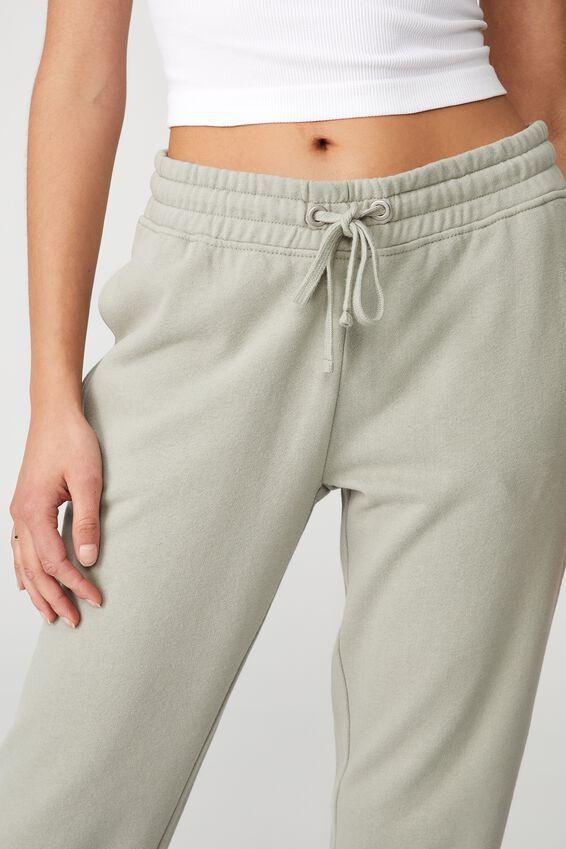 Slim Fit Trackpant, SAGE