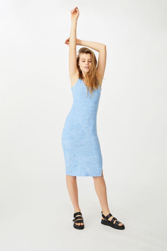 Tessa Tank Dress, POOLSIDE BLUE