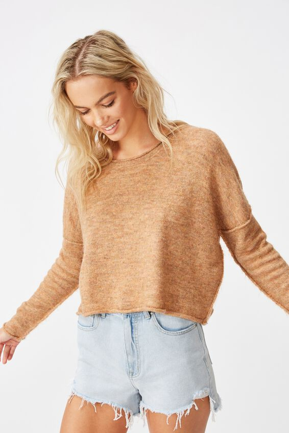 Slouchy Fine Pullover, LION MARLE