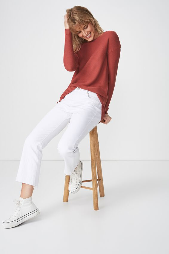Archy 4 Pullover, ROSEWOOD