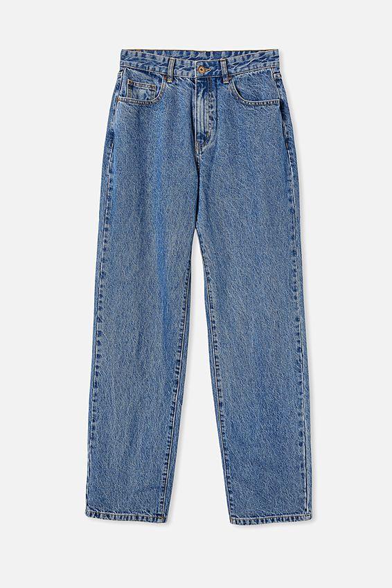 Baggy Straight Jean, LUCKY BLUE
