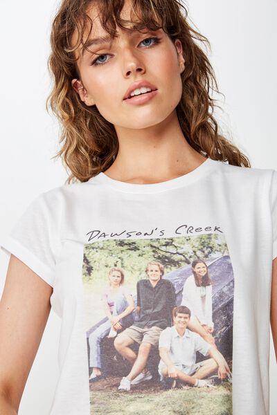Essential Tv Movie T Shirt, LCN WB DAWSONS CREEK PHOTO/WHITE
