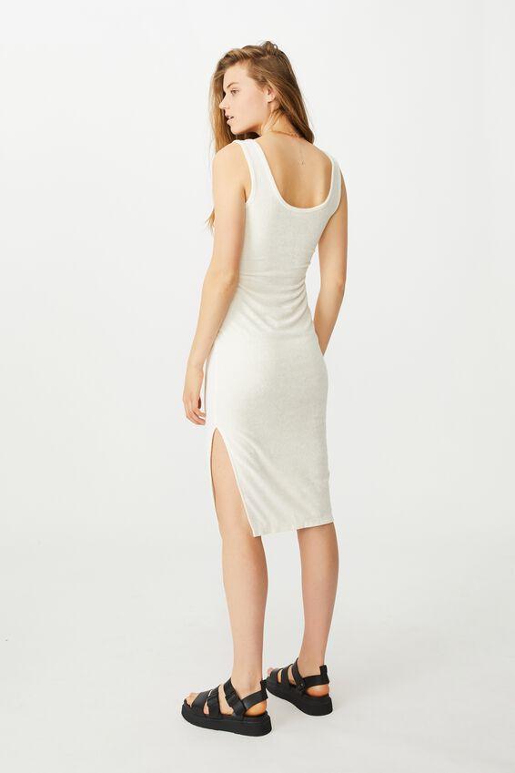 Tessa Tank Dress, SEASHELL WHITE