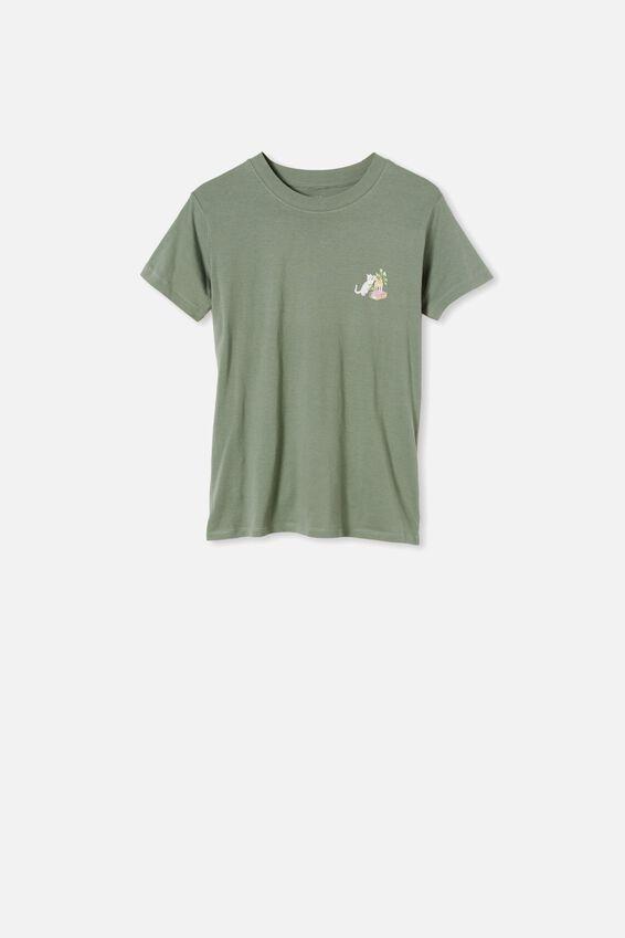Classic Arts T Shirt, PLANT FRIEND/FALL GREEN