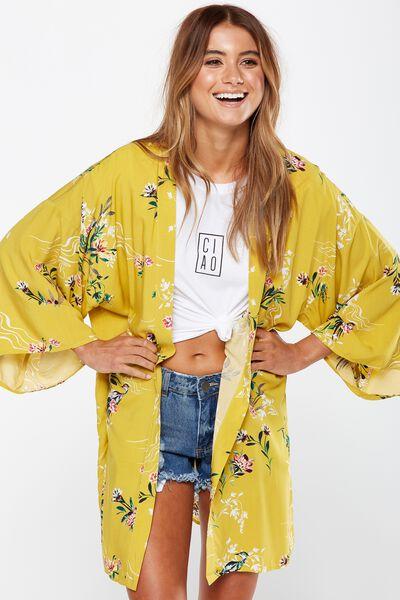 Holly Kimono, PENNY ORIENTAL LEMON