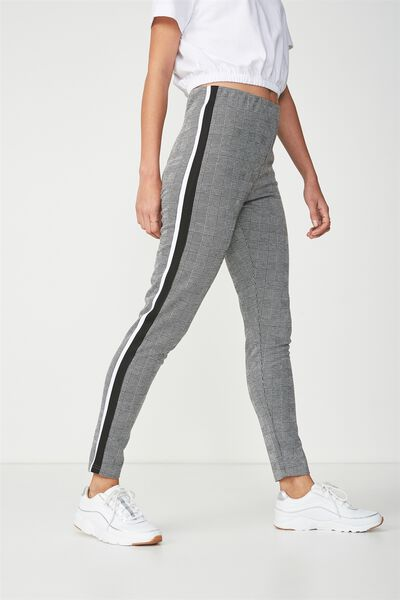 Dante Legging, CHECKERBOARD/SIDE TAPE