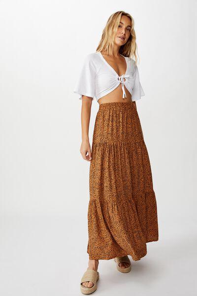 Jasmine Maxi Skirt, NATALIE SPOT LION