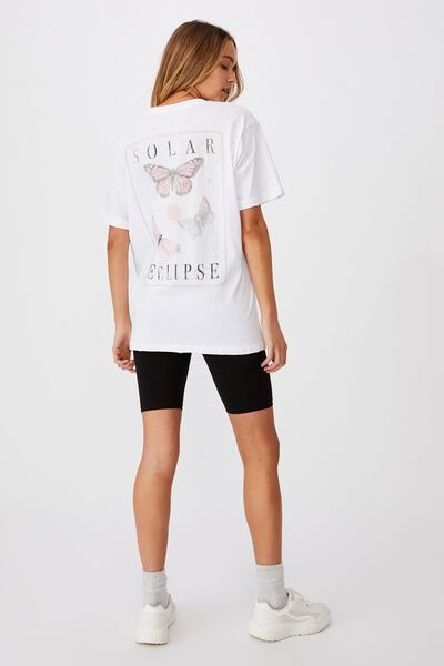 The Dad Graphic Tee, SOLAR ECLIPSE/WHITE