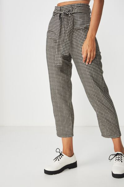 Shannon Pant, ISSY CHECK BLACK