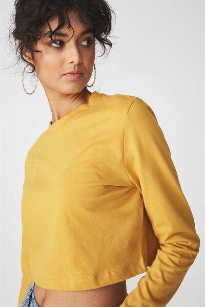 The Urban Long Sleeve Top, GOLDEN NUGGET