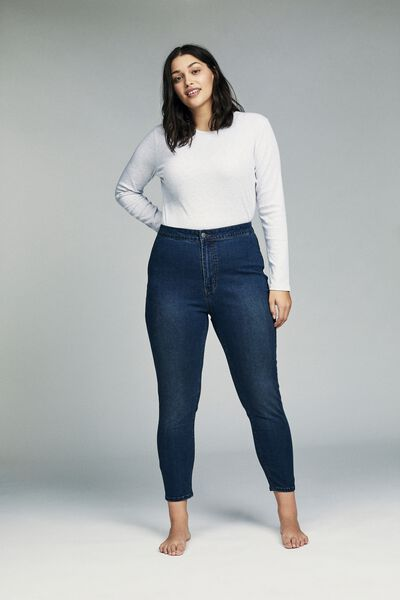 Curve Ashley High Jegging, MID BLUE