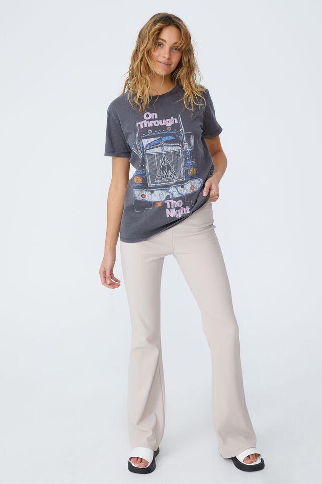 Classic Band T Shirt, LCN BR DEF LEPPARD NIGHT/EBONY