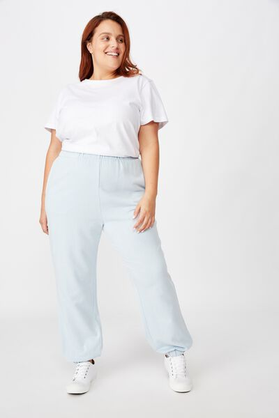 Curve High Rise Trackpant, CELESTIAL BLUE