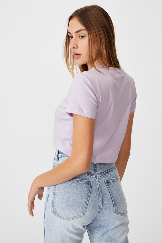 The Baby Tee, SOFT FROSTY LILAC