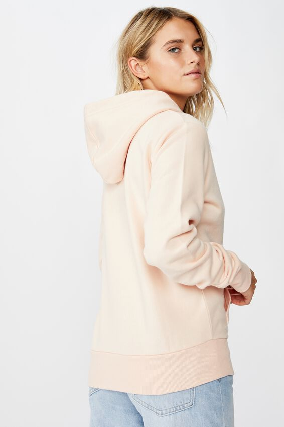 Demi Graphic Hoodie, HONEY/PALE BLUSH