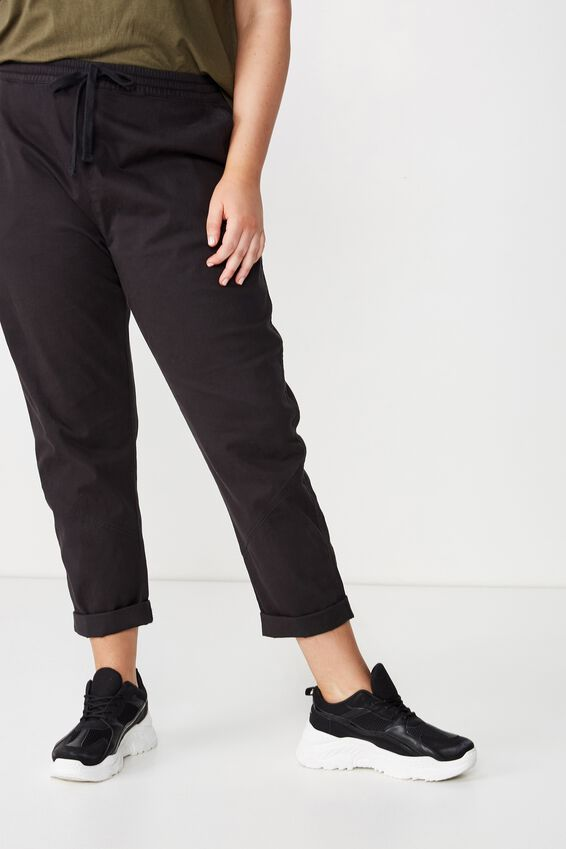 Curve Rolled Hem Chino by Cotton On