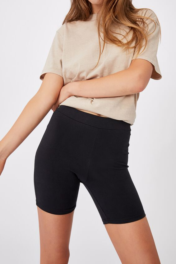 The Pip Jersey Bike Shorts, BLACK