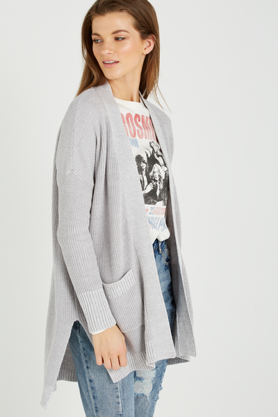 Tbar Long Sleeve Graphic Chop Tee, LCN AEROSMITH/GARDENIA