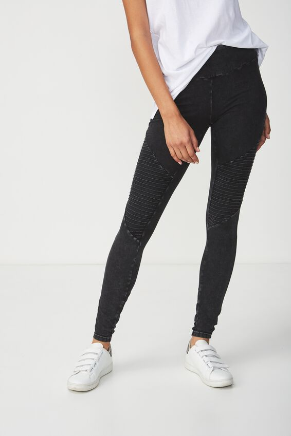 Tranquil Legging, WASHED BLACK/MOTO