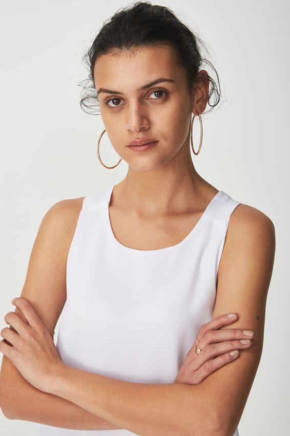Olivia Tank, WHITE