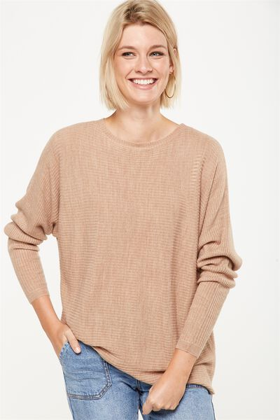 Batwing Lounge 2 Pullover, BURRO MARLE