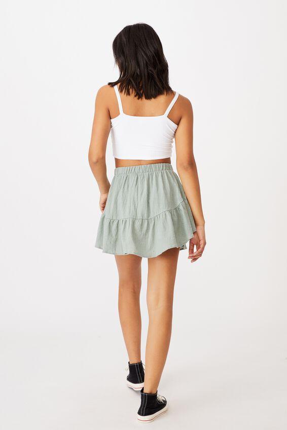 Spin Me Around Circle Skirt, LUSH GREEN