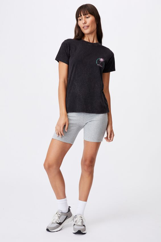 Classic Arts T Shirt, LAGUNA BEACH/BLACK