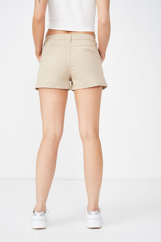 Panel Pocket Chino Short, OATS