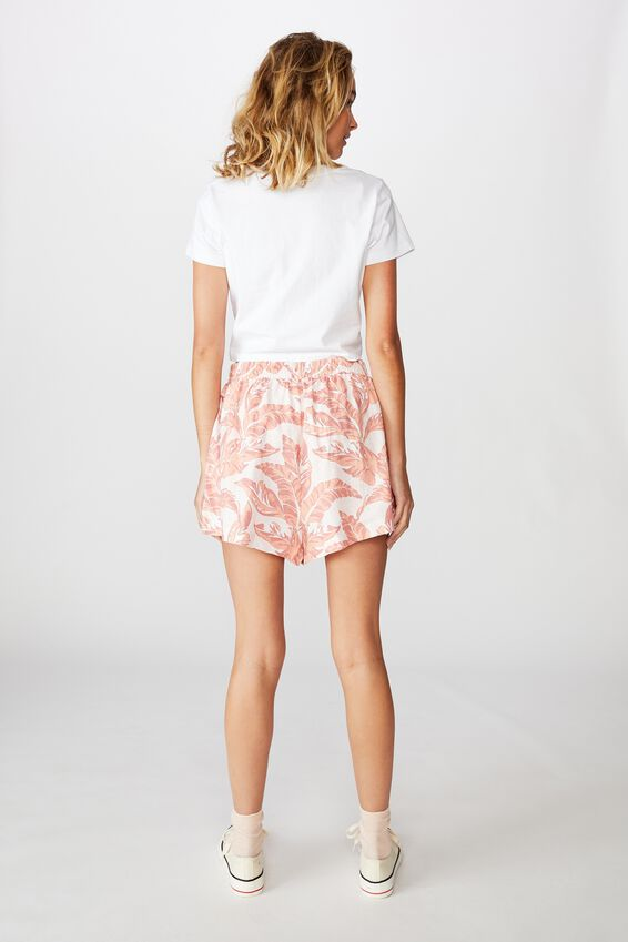 Pull On Short, ISLA TROPICAL CREOLE PINK