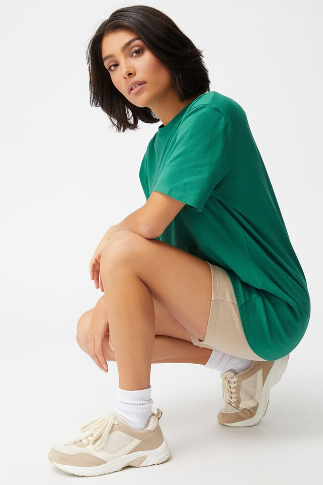 The Oversized Dad Tee, HERITAGE GREEN