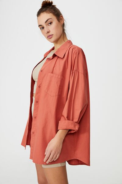 Dad Shirt, EARTHY RED