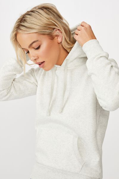 Demi Graphic Hoodie, DOING GREAT/OAT MARLE