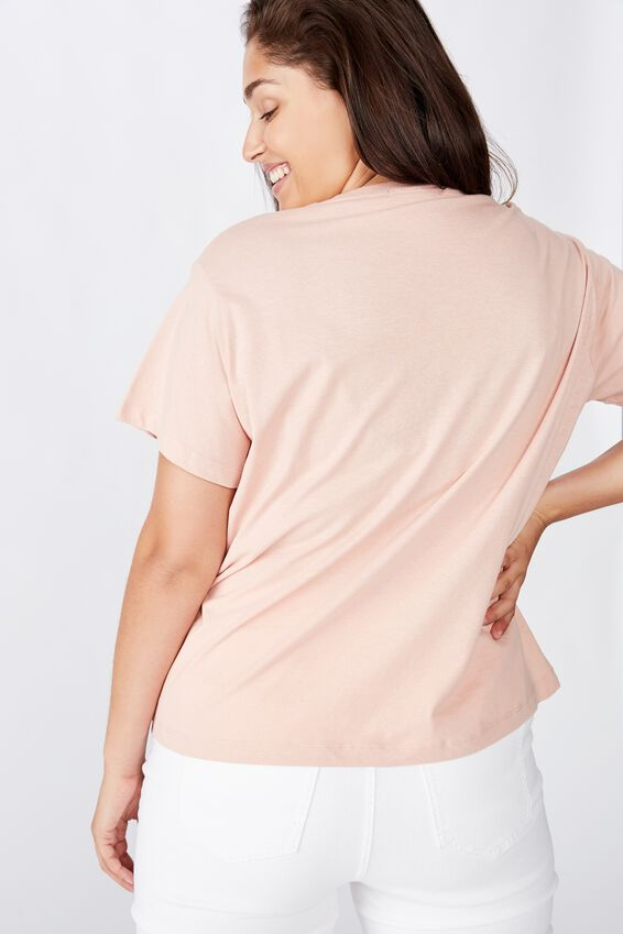 Curve Graphic Tee, SOUTH WEST/MISTY ROSE
