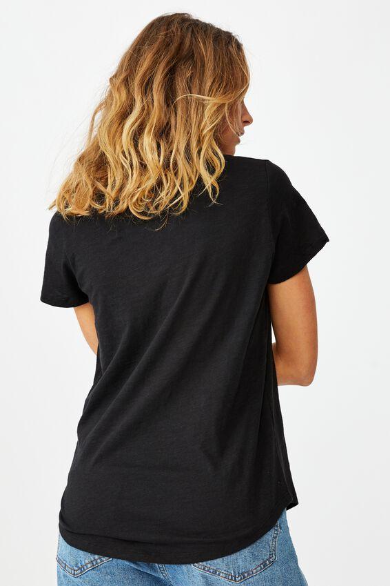 The Crew T Shirt, BLACK 2