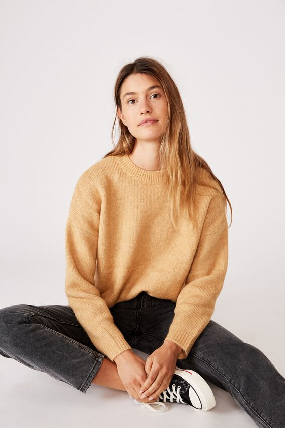 All Day Pullover, NEW WHEAT