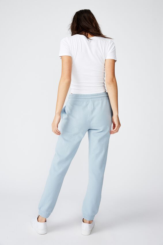 Slim Fit Trackpant, DUSTY BLUE