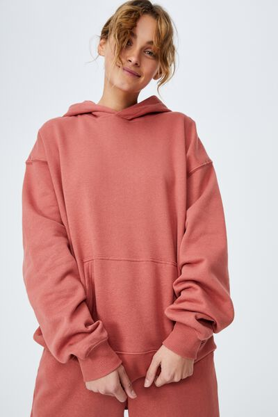 Classic Hoodie, EARTHY RED