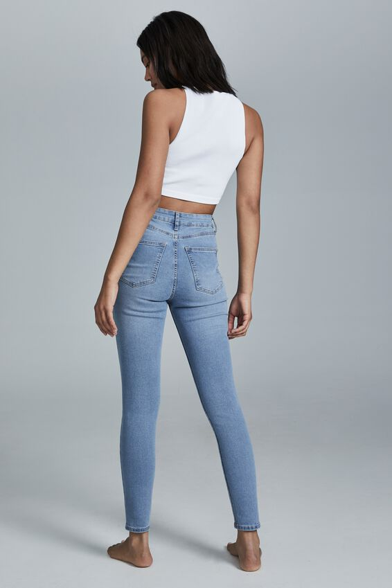 High Rise Skinny Jean, AIREYS BLUE