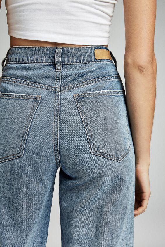 Wide Leg Jean, BOSTON BLUE